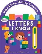 Start Little, Learn Big - Wipe Clean Letters I Know