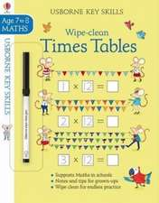 Wipe-Clean Times Tables 7-8