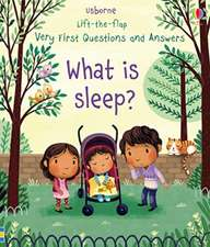 What is sleep: Very First Lift-the-Flap Questions & Answers
