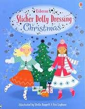 Sticker Dolly Dressing Christmas