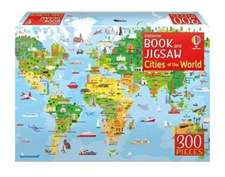 CITIES OF THE WORLD BOOK AND JIGSAW