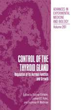 Control of the Thyroid Gland: Regulation of Its Normal Function and Growth