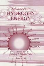 Advances in Hydrogen Energy