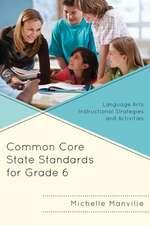 Common Core State Standards for Grade 6