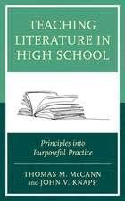Teaching Literature in High School