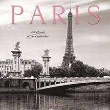 Paris 2020 - 16-Monatskalender
