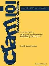 Studyguide for International Business by Wild, John J.