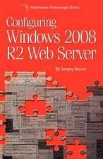 Configuring Windows 2008 R2 Web Server