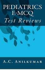 Pediatrics E-McQ