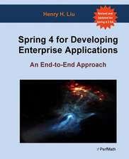 Spring 4 for Developing Enterprise Applications