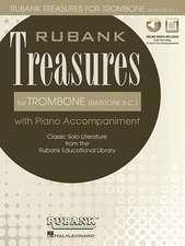 Rubank Treasures for Trombone (Baritone B.C.)