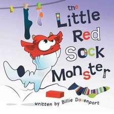 The Little Red Sock Monster