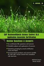 SAP Businessobjects Access Control 10.0 Application Associate Certification