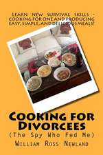 'Cooking for Divorcees (the Spy Who Fed Me)'