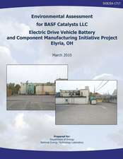 Environmental Assessment for Basf Catalysts, LLC Electric Drive Vehicle Battery and Component Manufacturing Initiative Project, Elyria, Oh (Doe/EA-171