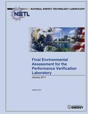 Final Environmental Assessment for the Performance Verification Laboratory (Doe/EA-1837)