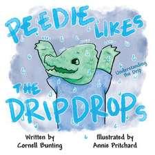 Peedie Likes the Drip Drops