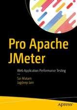 Pro Apache JMeter: Web Application Performance Testing