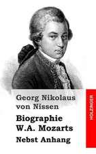 Biographie W.A. Mozarts