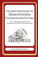 The Best Ever Guide to Demotivation for Manchester City Fans
