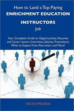 How to Land a Top-Paying Enrichment education instructors Job