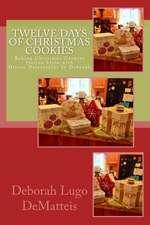 Twelve Days of Christmas Cookies