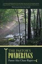 The Pastor's Ponderings