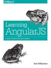Learning AngularJS