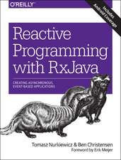 Reactive Programming with RxJava