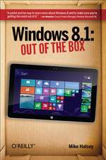 Windows 8.1: Out of the Box 2ed