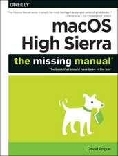 macOS High Sierra – The Missing Manual