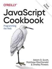 JavaScript Cookbook 3e