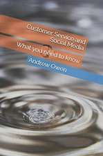 Customer Service and Social Media