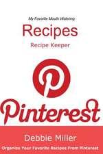 Pinterest Recipes (Blank Cookbook)