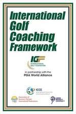 International Golf Coaching Framework