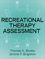 Skalko, T: Assessment in Recreational Therapy