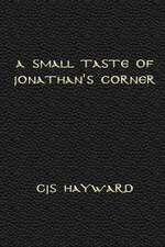 A Small Taste of Jonathan's Corner