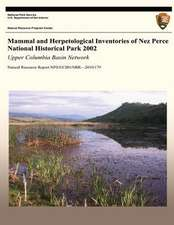 Mammal and Herpetological Inventories of Nez Perce National Historical Park 2002