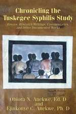 Chronicling the Tuskegee Syphilis Study