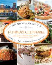 Baltimore Chef's Table