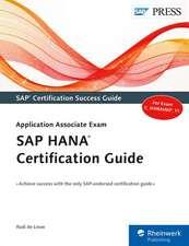 Louw, R: SAP HANA Certification Guide