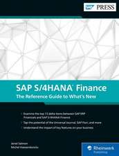 SAP S/4HANA Finance: The Reference Guide to What's New