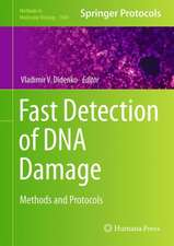 Fast Detection of DNA Damage: Methods and Protocols