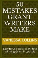 50 Mistakes Grant Writers Make