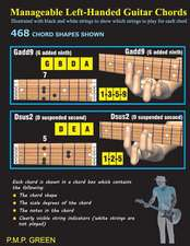 Manageable Left-Handed Guitar Chords