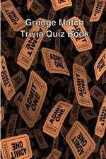 Grudge Match Trivia Quiz Book