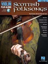 Scottish Folksongs: Violin Play-Along Volume 54