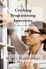 Cracking Programming Interviews