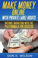 Make Money Online with Private Label Rights