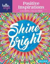 Hello Angel Positive Inspirations Coloring Collection